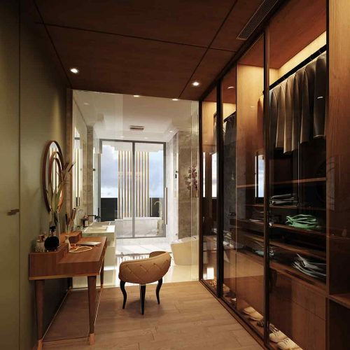 Live In Style - There Is A Walk-In Cabinet In Each Bedroom